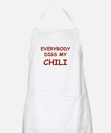 Everybody Digs My CHILI BBQ Apron