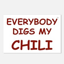 Everybody Digs My CHILI Postcards (Package of 8)