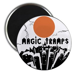 "2.25"" ""Magic Tramps"" Magnet (10 pac"