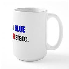 Feelin' Blue in a Red State Mug