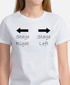Stage Right.Left T-Shirt