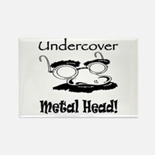 Undercover Metal Head Rectangle Magnet (10 pack)