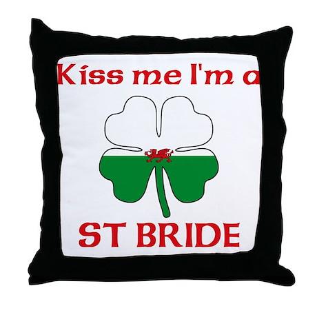 St Bride Family Throw Pillow