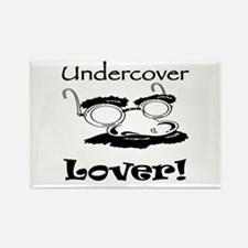 Undercover Lover Rectangle Magnet