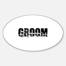 Groom - Earthquake Oval Decal