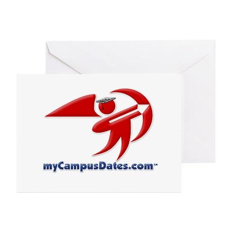 myCampusDates.com Greeting Cards (Pk of 10)