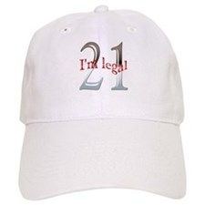 I'm Legal 21st Birthday Baseball Cap