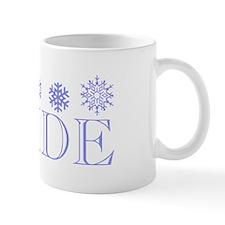 Bride - Snowflakes Mug