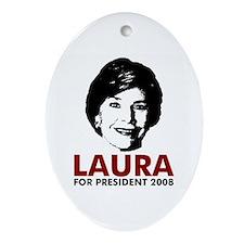 Laura 2008 Keepsake (Oval)