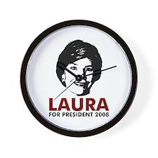 Laura 2008 Wall Clock