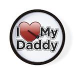 Love Daddy Wall Clock