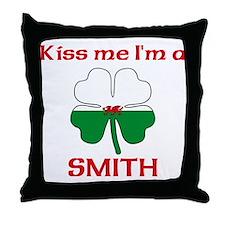 Smith Family Throw Pillow