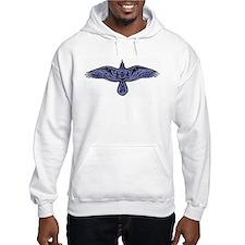 Celtic Raven Hooded Sweatshirt