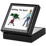 Walking The Beet! Keepsake Box