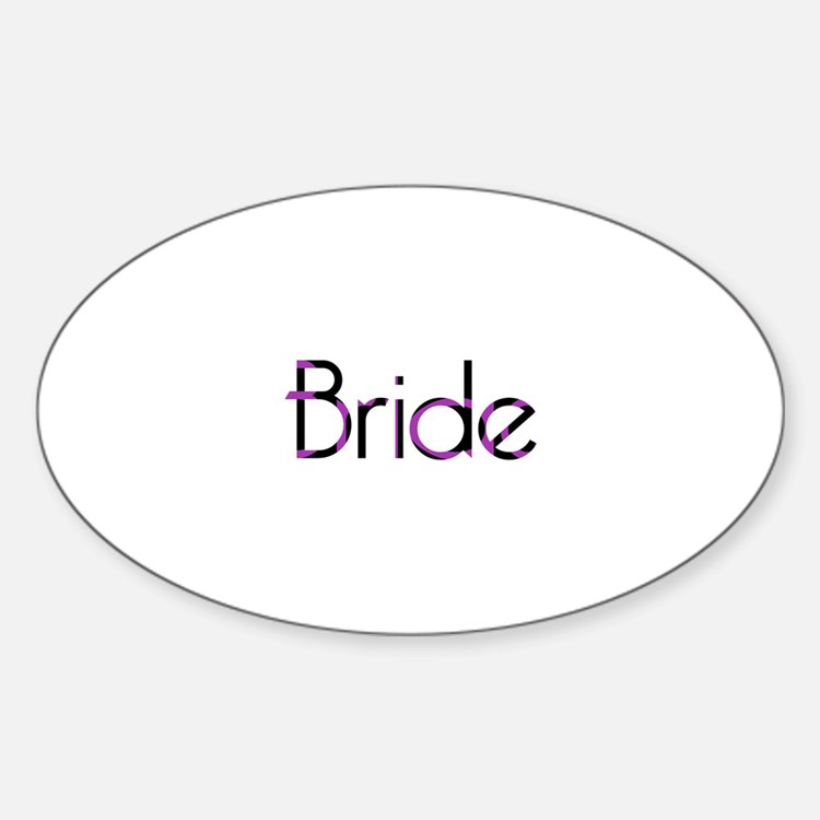 Bride - PB Oval Decal