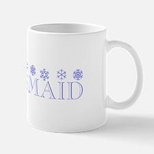Bridesmaid - Snowflakes Mug
