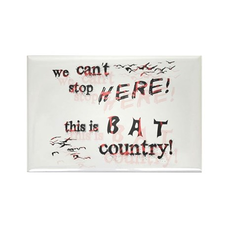 Bat Country - Rectangle Magnet