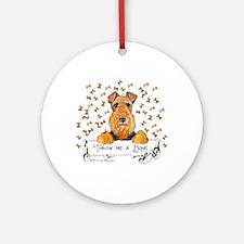 Lakeland Terrier Bone Ornament (Round)