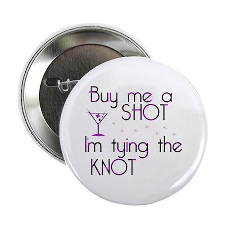 """Buy Me A Shot - Retro Martini 2.25"""" Button"""