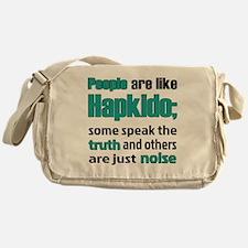 People are like Hapkido Messenger Bag