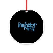 Bachelor Party - Blue Dingo Ornament (Round)