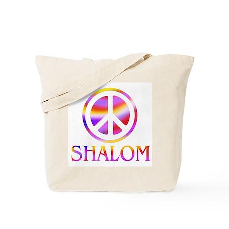 Shalom/Peace Tote Bag