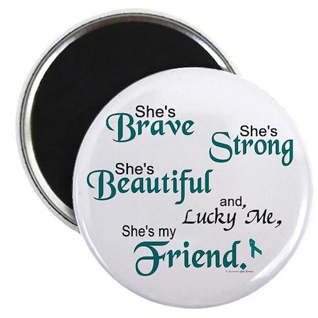 Lucky Me 1 (Friend OC) Magnet