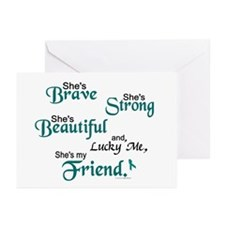 Lucky Me 1 (Friend OC) Greeting Cards (Pk of 10)