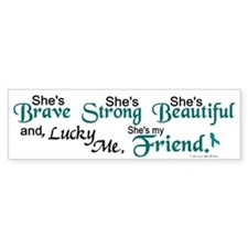 Lucky Me 1 (Friend OC) Bumper Bumper Sticker