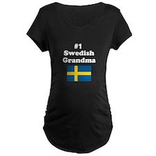 #1 Swedish Grandma T-Shirt