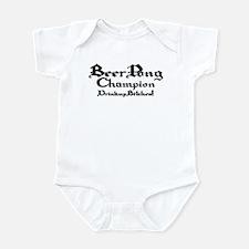 Beer Pong Champion - 2 Infant Bodysuit