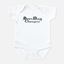 Beer Pong Champion - 1 Infant Bodysuit
