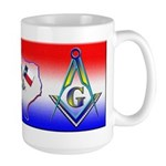 Texas Masons Large Mug