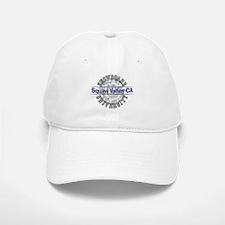 Snowboard Squaw Valley CA Baseball Baseball Cap