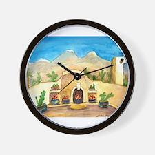 Watercolor #1 Wall Clock