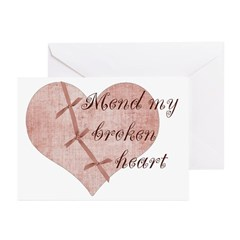 Mend My Heart by Leah Greeting Cards (Pk of 10)
