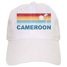 Palm Tree Cameroon Baseball Cap