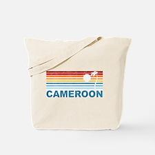 Palm Tree Cameroon Tote Bag