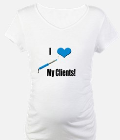 I Love (Heart) My Clients (Bl Shirt