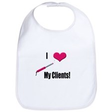 I Love (Heart) My Clients (Pi Bib