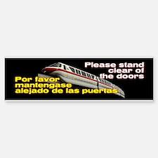 Monorail Red Bumper Bumper Stickers