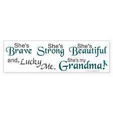 Lucky Me 1 (Grandma OC) Bumper Bumper Sticker