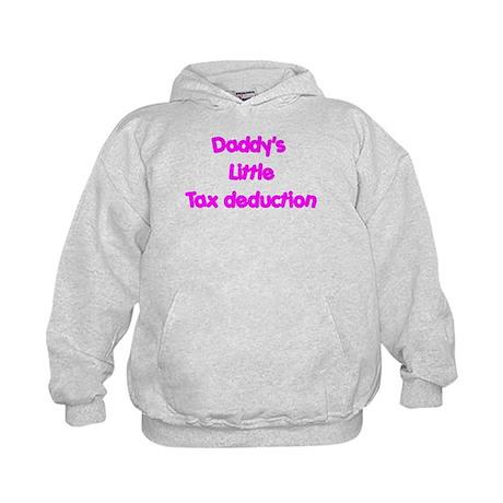 Daddys little tax deduction Kids Hoodie