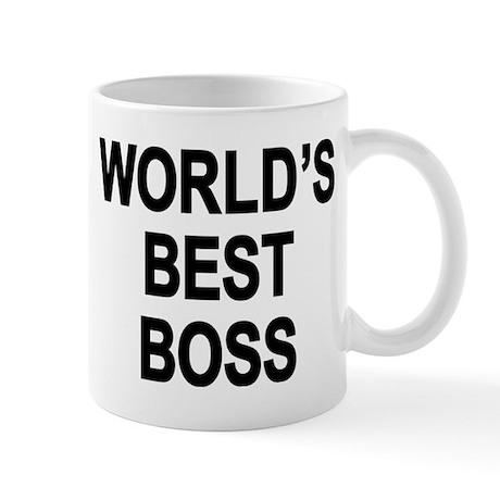 World's Best Boss Mug Mugs