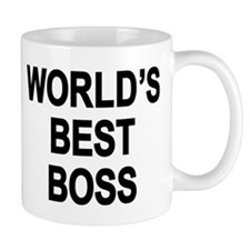 World's Best Boss Small Mug