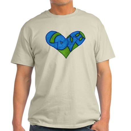Heart Full of Love Light T-Shirt