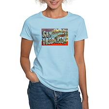 San Francisco California Greetings (Front) T-Shirt