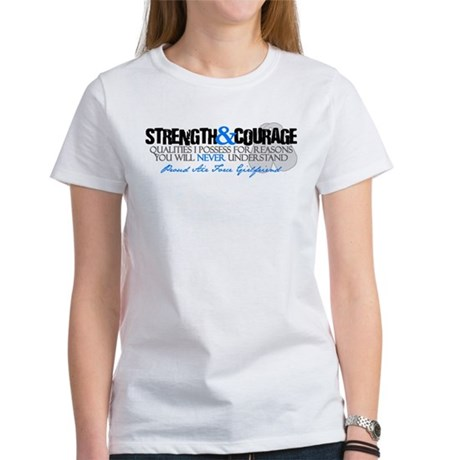 Courage&Strength Air Force GF Women's T-Shirt
