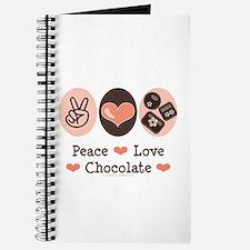 Peace Love Chocolate Journal