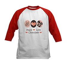Peace Love Chocolate Tee